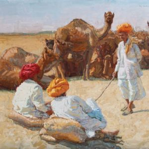 camel-trader-series---old-friends---24x28